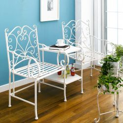 PL08-34283  Chair With Bench