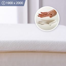 Memory Foam-3-1900 King  Mattress Topper 1900