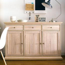 79853AK  3-Drawer Sideboard