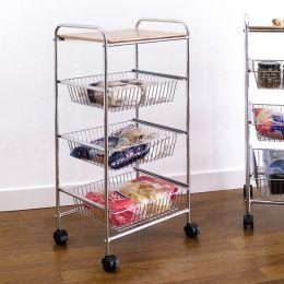 CK8583  3-Shelf Storage Cart