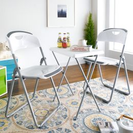 FC-White-3  2-Chair & Table  (3 Pcs 포함)