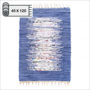 SSA-403-Blue-45x120  100% Handmade Carpet