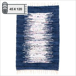 SSA-403-Navy-45x120  100% Handmade Carpet