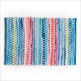 SSA-406-Blue-45x120  100% Handmade Carpet