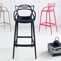 PP-601C-Black  Bar Chair