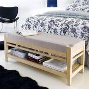 B3505-80  Bed Bench