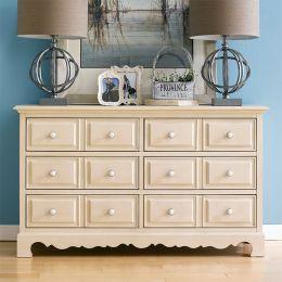 Octavia-White  Antique Dresser