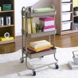 ST25346-C-Brown  Storage Cart