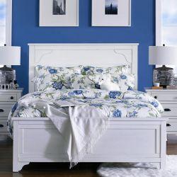 B4124  Queen Panel Bed