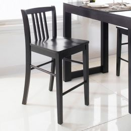 D390-Black-BC  Bar Chair