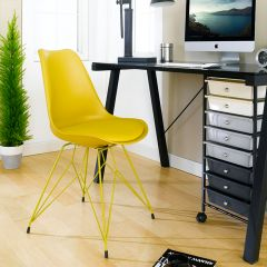 Eiffel-Dark Yellow  Chair