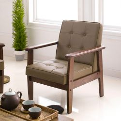 DT-1901-Cappucino-PU  Single Chair