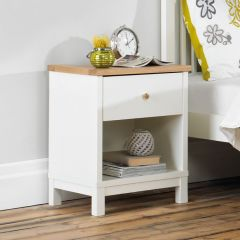 Atlanta-Two Tones Nightstand