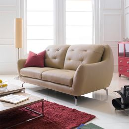 M8011  3-Seater Leather Sofa