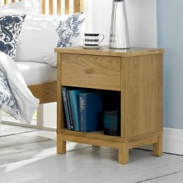 Atlanta-Oak  Nightstand
