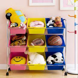BN115  9-Drawer Storage Cart
