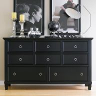 Tamarack-Black  Drawer Dresser