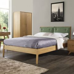 Milano  Queen Bed w/ Slats