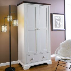HAMPSTEAD-Two Tones  Double Wardrobe