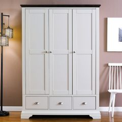HAMPSTEAD-Two Tones  Triple Wardrobe