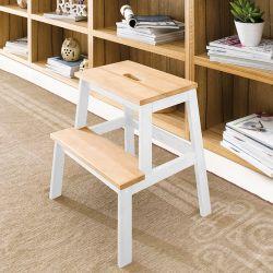 Step Ladder-White