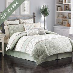 Raeland  Queen/King Comforter
