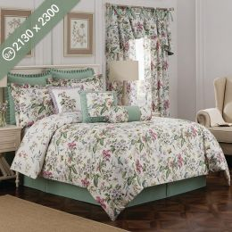 Palace Green  Queen/King Comforter