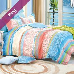 RYT608  King Comforter ~100% Cotton~ (솜이불+베개커버 2개)(Size: 213 cm x 230 cm)