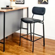 Veronica-Black-CTR  Bar Chair
