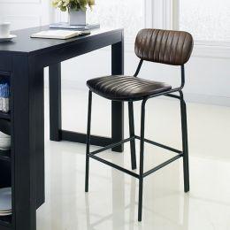 Veronica-Brown-CTR  Bar Chair
