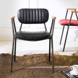 Miranda-Black  Metal Chair