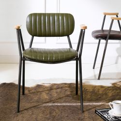 Miranda-Green  Metal Chair