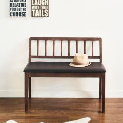 Miso-Wal-S  Wooden Bench