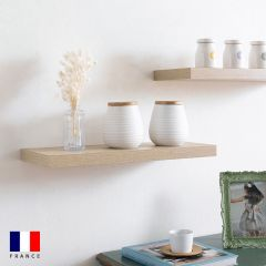 Etagere-DS4-Oak-600  Wall Shelf