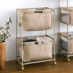 EASI-10050046-00109  2-Tier Laundry Sorter