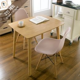 Sarah-Pink-2  Dining Set (1 Table + 2 Chairs)