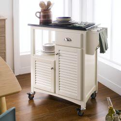 ND901001  Kitchen Cart w/ Stone