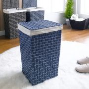 P16-1661-Blue  Laundry Basket