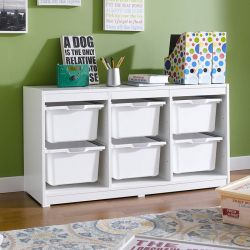 Kreo-WHT-WHT-6  Storage Box