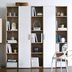 WB-5020-5  5-Unit Bookcase  (5 Pcs)