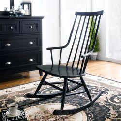 Troy-Black  Rocking Chair