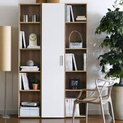 WB-5020-3  3-Unit Bookcase  (3 Pcs)