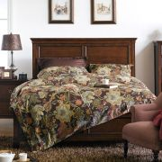 Tamarack-Brown  Queen Panel Bed