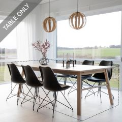 Carver-TB-Oak  Dining Table (Table Only)