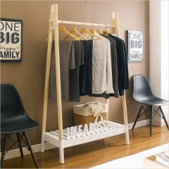 Hali-White  Clothes Hanger