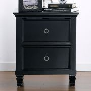 Tamarack-Black  Nightstand
