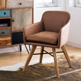 Camel  Accent Chair