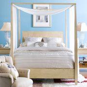 B3505  Queen Canopy Bed