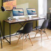 MD-1800-Black  Metal Large Desk
