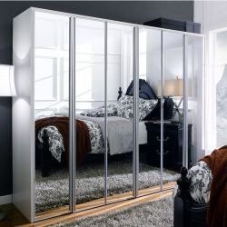WD-3100  3-Unit Closet w/ Mirror Door